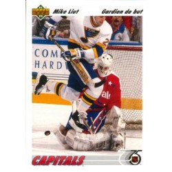 1991-92 Upper Deck French c. 259 Mike Liut WSH