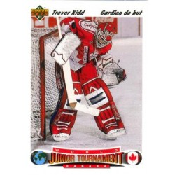 1991-92 Upper Deck French c. 684 Trevor Kidd CAN
