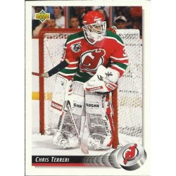 1992-93 Upper Deck c. 043 Chris Terreri NJD