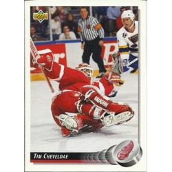 1992-93 Upper Deck c. 197 Tim Cheveldae DET