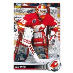 1992-93 Upper Deck c. 442 Jeff Reese CGY