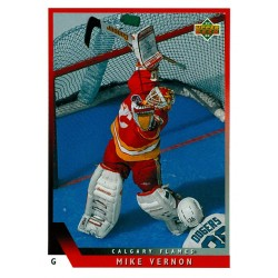 1993-94 Upper Deck c. 177 Mike Vernon CGY