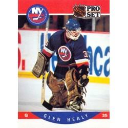 1990-91 Pro Set c. 183 Glenn Healy NYI