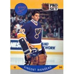 1990-91 Pro Set c. 270 Vincent Riendeau STL