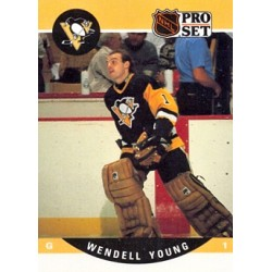 1990-91 Pro Set c. 512 Wendell Young PIT