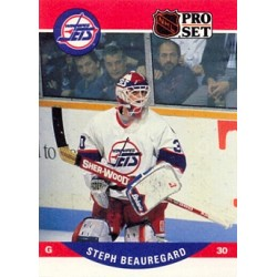 1990-91 Pro Set c. 648 Steph Beauregard WIN