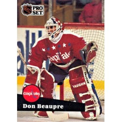 1991-92 Pro Set c. 257 Don Beaupre WSH