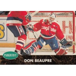 1991-92 Parkhurst French c. 416 Don Beaupre WSH