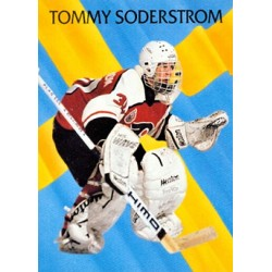 1992-93 Parkhurst International Rising Star c. 448 Tommy Soderstrom PHI