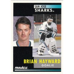 1991-92 Pinnacle c. 083 Brian Hayward SJS