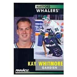 1991-92 Pinnacle Canadian c. 022 Kay Whitmore HFD