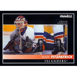 1992-93 Pinnacle Canadian c. 024 Mark Fitzpatrick NYI